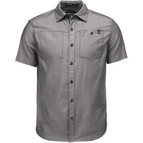 Black Diamond Solution SS Shirt Men black-ash